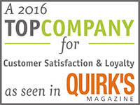 Gold Research: A TOP Company for Customer Satisfaction & Loyalty as seen in Quirk's Magazine
