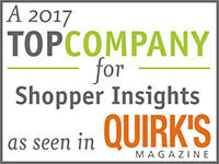 Gold Research: A TOP Company for Shopper Insights as seen in Quirk's Magazine